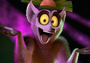 "DreamWorks lanseaza seria animata ""All Hail King Julien"""