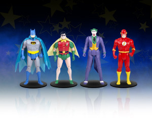 DC Super Powers Micro Figures de la Gentle Giant Ltd.